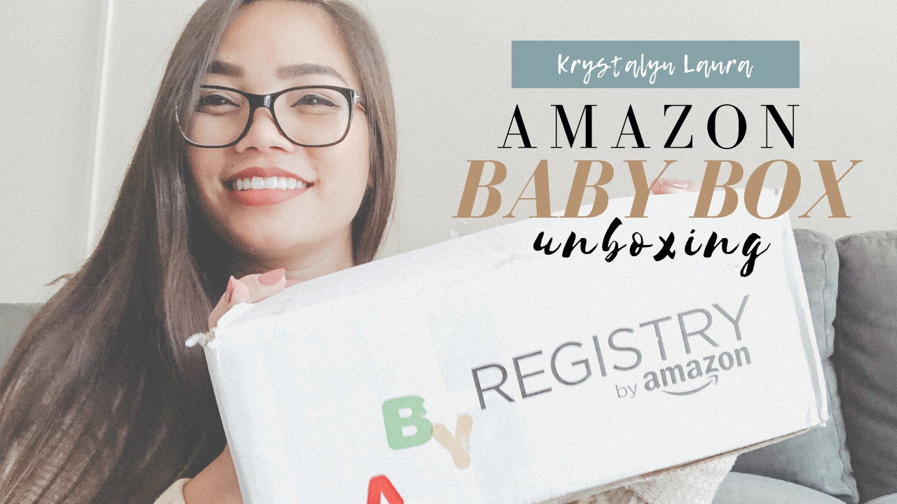 Amazon Baby Registry Welcome Box · August 2018